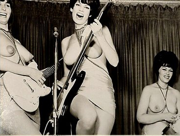 30 vintage girl bands 1950 porn from 1950 to 1990